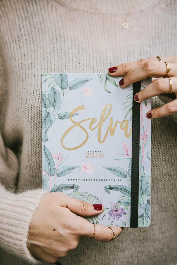 Agendas y calendarios 2018 regalo original-82