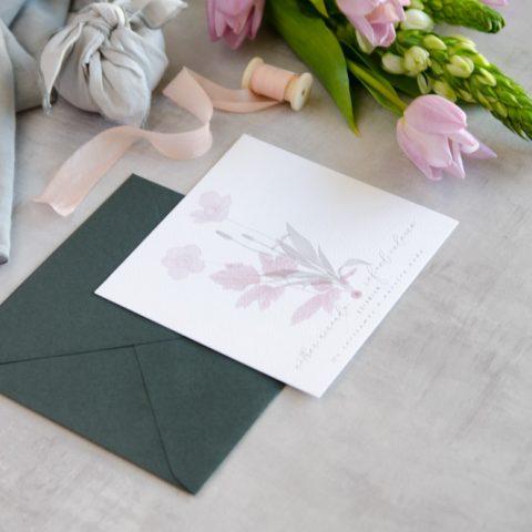 Invitaciones de boda originales romanticas gris rosa-141
