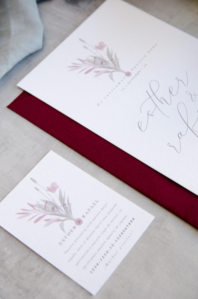 Lista de boda tarjeta cuenta bancaria boda
