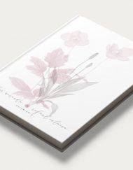 Libro firmas boda flores obl