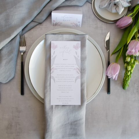 Minutas de boda personalizadas gris rosa-19