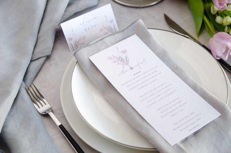 Minutas de boda personalizadas gris rosa-20