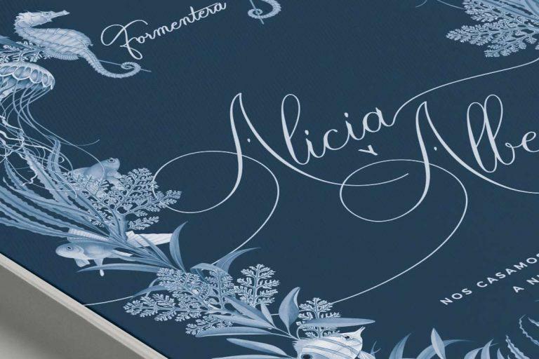 Invitaciones boda mar playa INV-MARINERA-formentera-CLASICA-corona-duotono-1-ANV-detalle