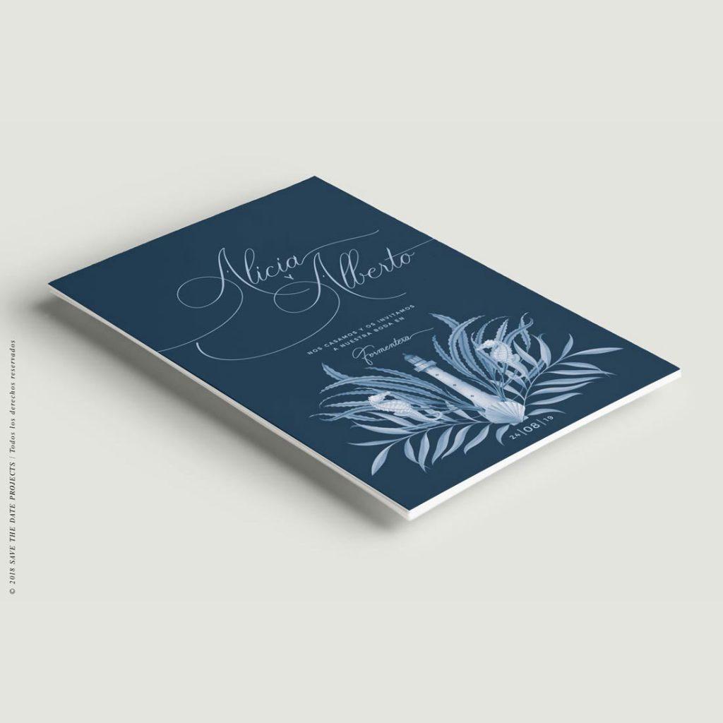 Invitaciones-boda-mar-playa-marinera-Faro-Clasica-duotono-ANV