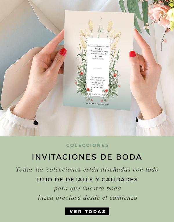 Invitaciones De Boda Elegantes Sobres Y Envio Incluidos Te Ayudamos - Ver-invitaciones-de-boda