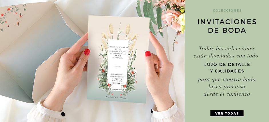 Invitaciones de boda sobres y envo incluido Te ayudamos con tu