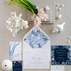 Invitaciones de boda originales playa mar peces-0002