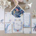 Invitaciones de boda originales playa mar peces-0010