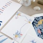 Invitaciones de boda originales playa mar peces-0048