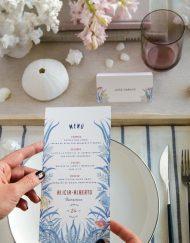 Invitaciones de boda playa mar peces-9910