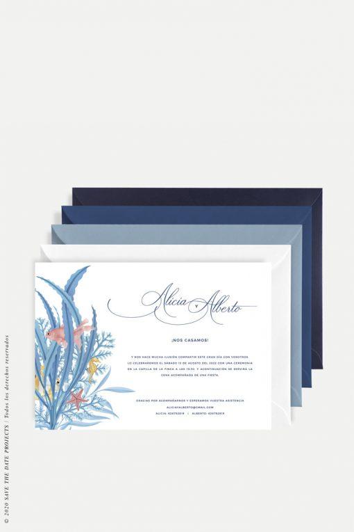 invitacion clasica mar