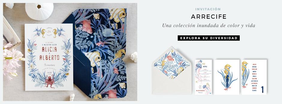 invitaciones-de-boda-playa-con-ilustraciones-en-acuarela-verano-peces-corales-azul-ARRECIFE