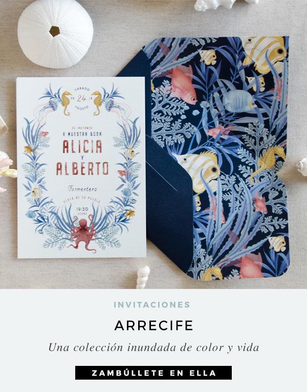 invitaciones-de-boda-playa-ilustraciones-acuarela-verano-peces-coral-azul-ARRECIFE-CUADRADA