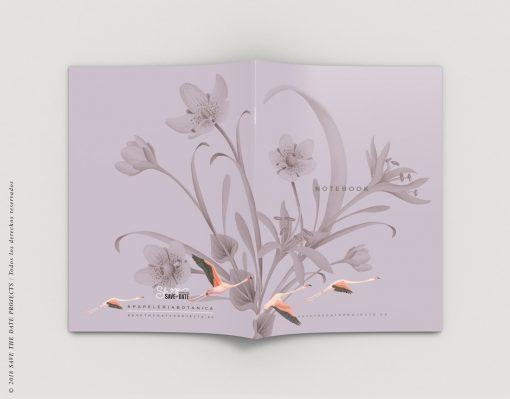 LIBRETA-dibujos-botanicos-donana-flamencos-EXTERIOR
