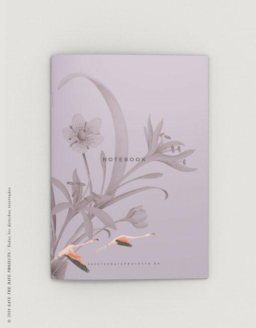 LIBRETA-dibujos-botanicos-donana-flamencos-PORTADA