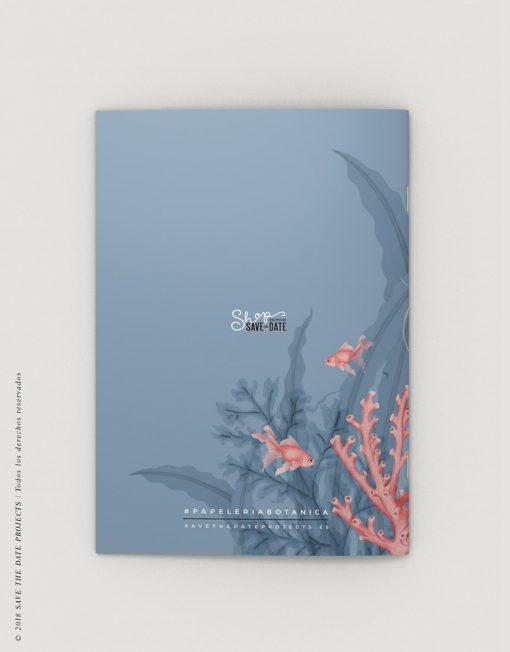 LIBRETA-dibujos-botanicos-mar-medusas-peces-CONTRAPORTADA