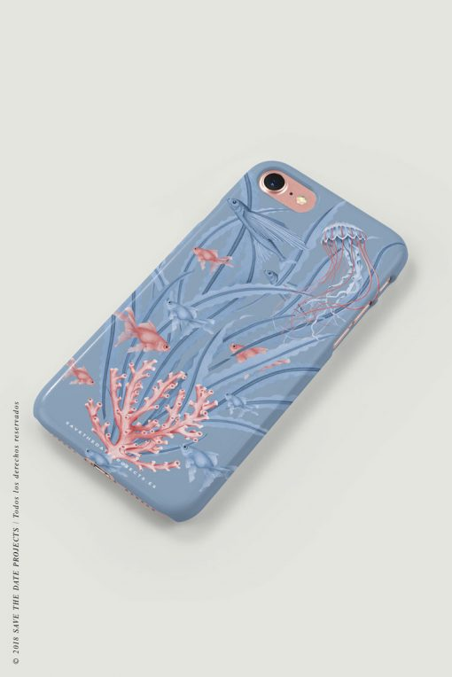 carcasa-iphone-7-OCEANO-CUADERNO-mar-peces-medusas-coral-cases-LATERAL