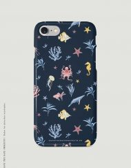 carcasa-iphone-7-OCEANO-INFANTIL-azul-mar-peces-medusas-coral-pulpos-cases-TRASERA