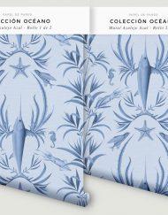 papel-pintado-MURAL-BANO-marinero-azulejo-azul-PERCHA