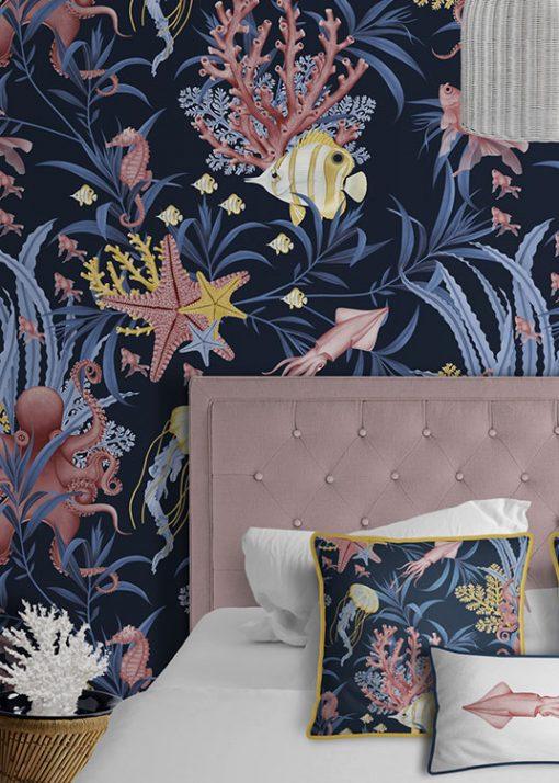 papel-pintado-habitacion-marina-ARRECIFE-detalle