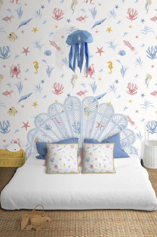 papel-pintado-habitacion-marina-INFANTIL-blanco