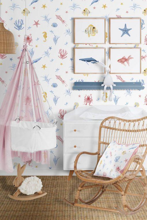 papel-pintado-habitacion-marina-INFANTIL-cuna-blanco