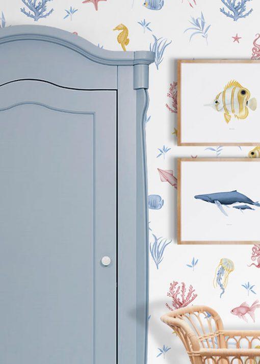 papel-pintado-habitacion-marina-INFANTIL-cuna-blanco-2-detalle