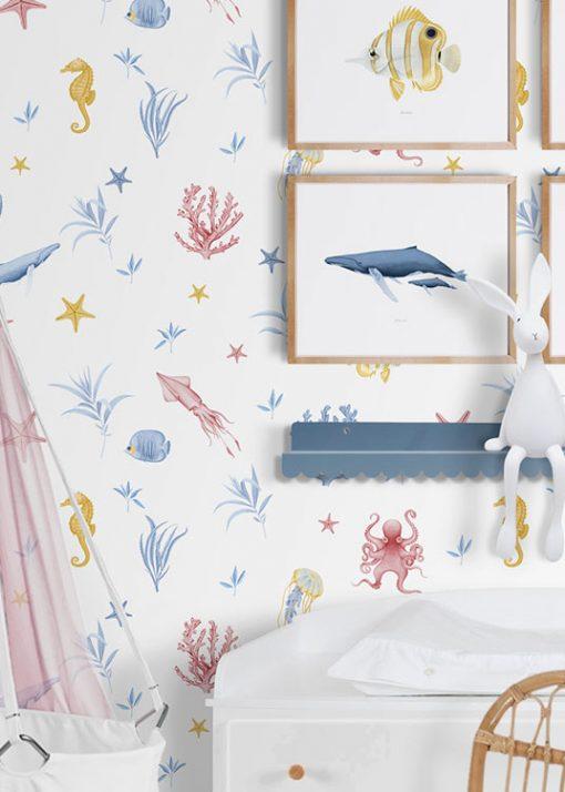 papel-pintado-habitacion-marina-INFANTIL-cuna-blanco-detalle