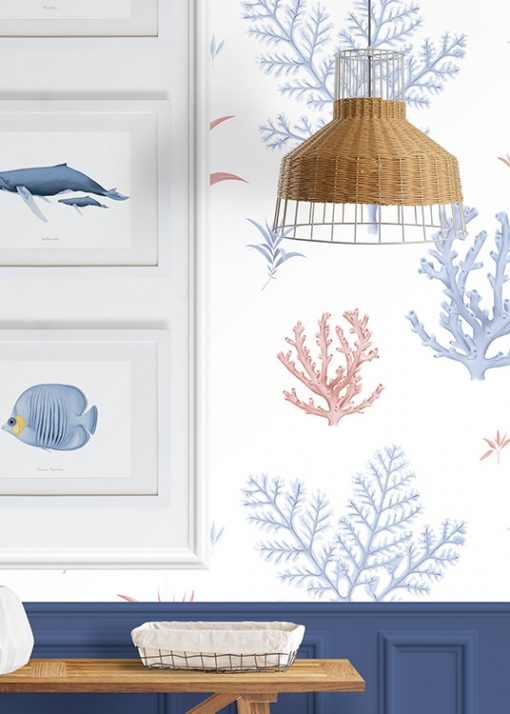 papel-pintado-recibidor-marinera-CORAL-detalle