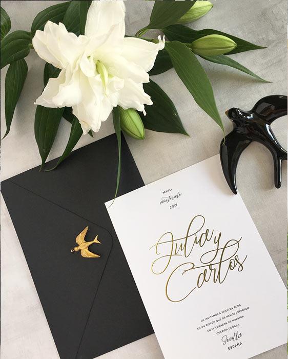 Invitaciones-de-boda-caligrafia