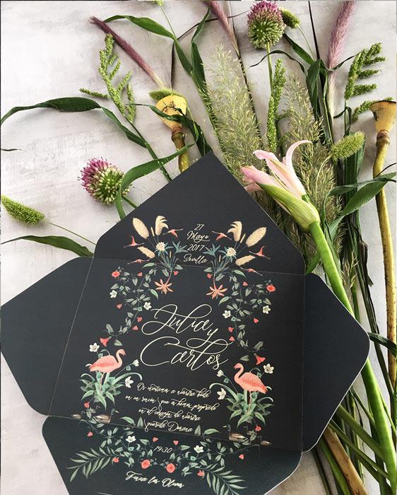 Invitaciones-de-boda-con-sobres-de-boda