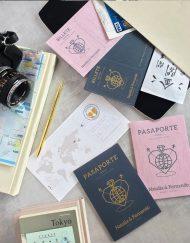 Invitaciones de Boda Pasaporte y Boarding Pass