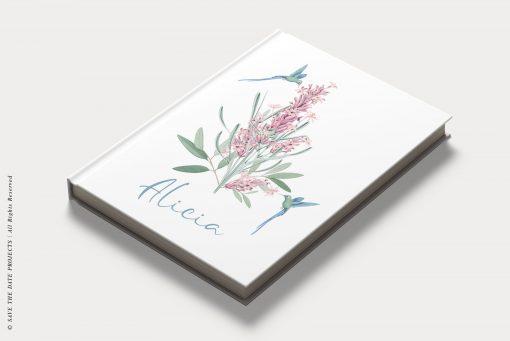 libro firmas comunion colibri
