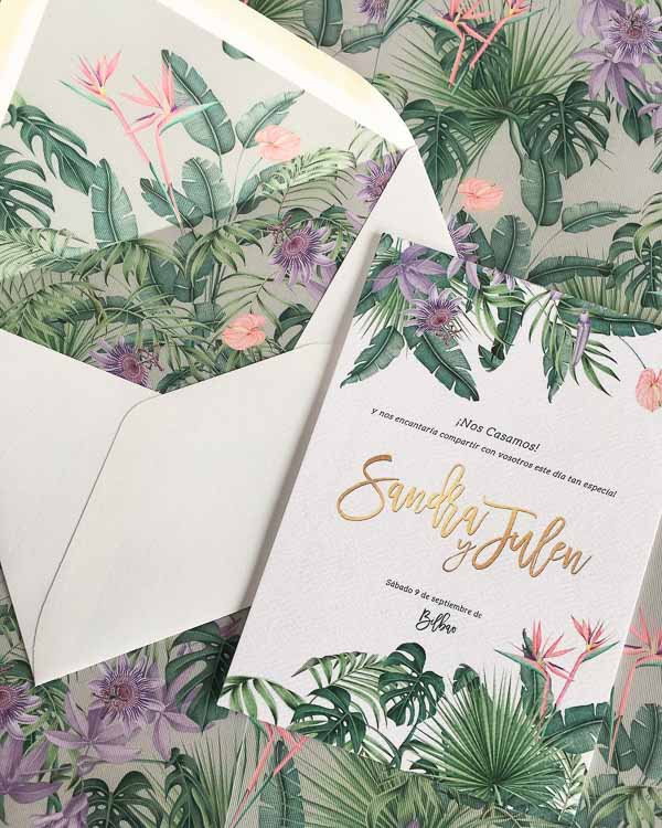 Tendencias Papeleria Boda 2019 save the date projects