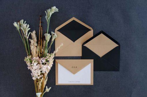 Sobres para boda forro tarjeta familiar boda agradecimiento