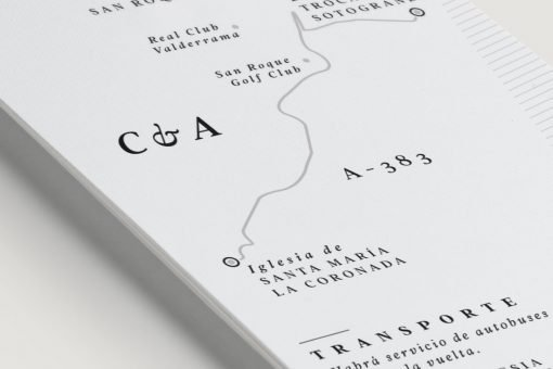mapas de boda detalle celebracion datos bus