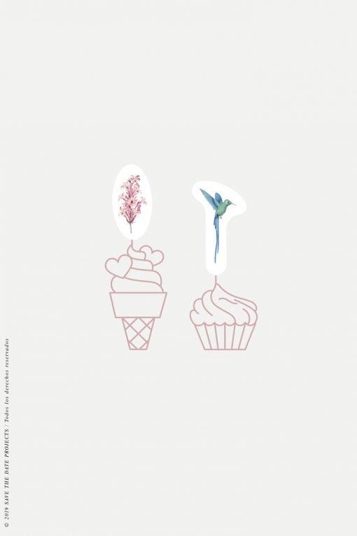 cake topper comunion nina colibri-2