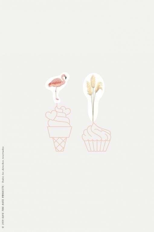cake topper comunion nina flamencos-2