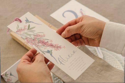 manos y recordatorio primera comunion