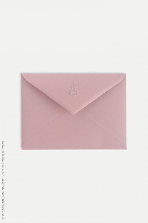 sobre rosado comunion con relive personalizado comunion nina colibro