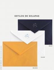 sobres de color personalizado comunion nino marinero