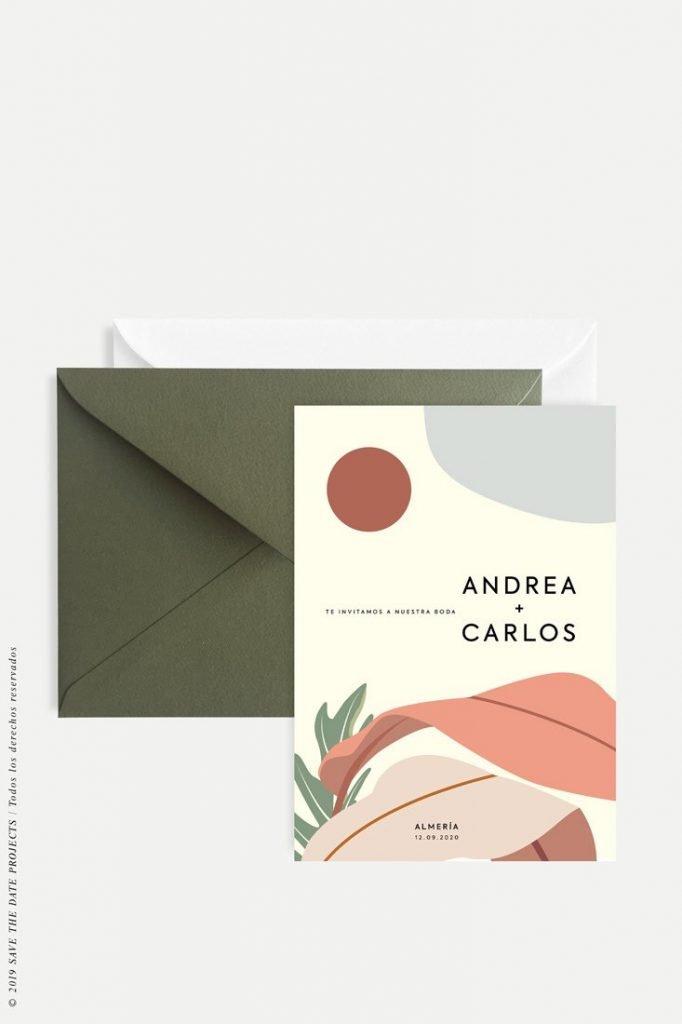 invitaciones barcelona modernas