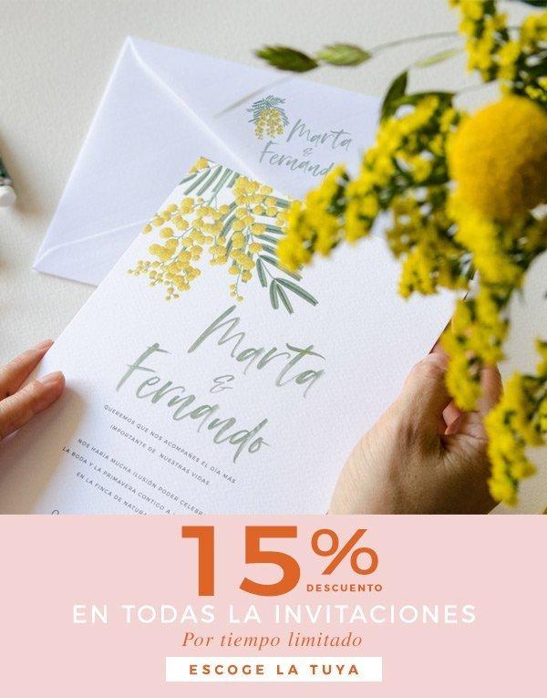 invitacion 2019 con descuento mimosa cuadrada
