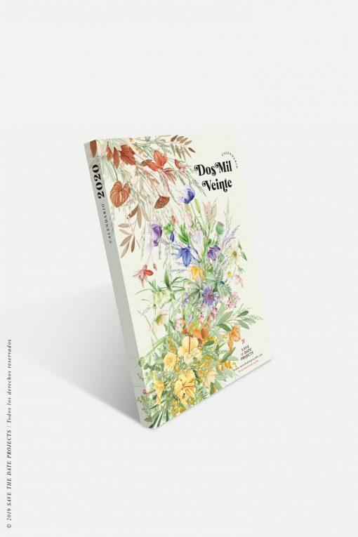 Calendario 2020 flores plantae portada