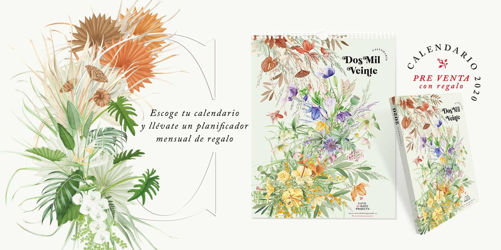 calendarios 2020 savethedateprojects