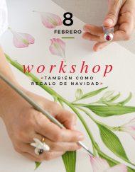 taller acuarela Madrid 8 febrero 2020