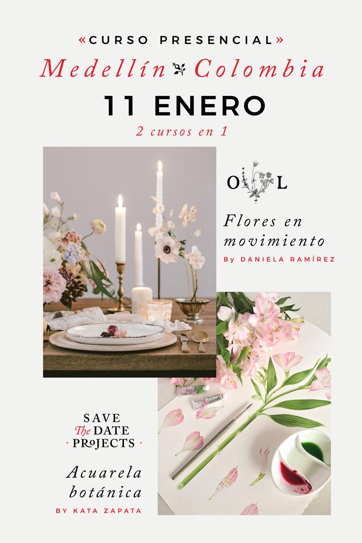 curso-en-medellin-de-acuarela-botanica-y-erreglo-floral