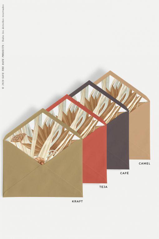sobres-de-colores-forrados-hojas-secas
