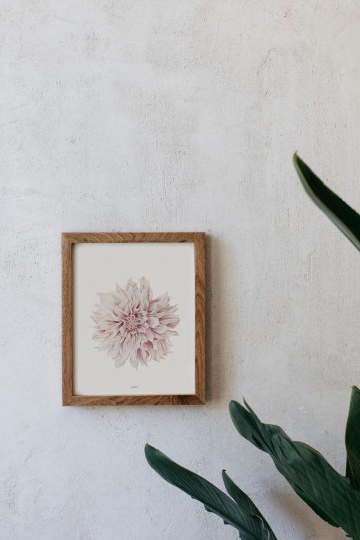 lamina decorativa dahlia