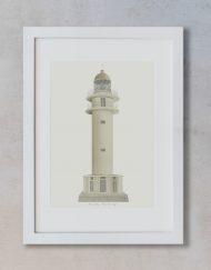 Decoración con cuadros lámina Faro Cap de Babaria